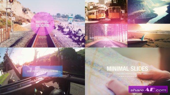 Videohive Minimal Slides