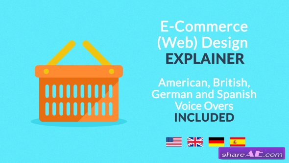 Videohive E-Commerce (Web) Design Explainer