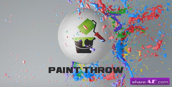 Videohive Paint Throw