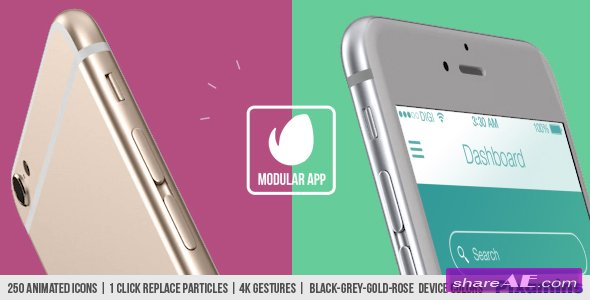 Videohive Modular App Promo