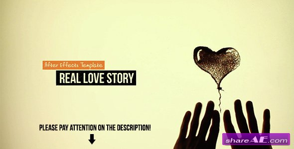 Videohive Real Love Story