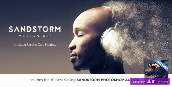 Videohive SandStorm Motion Kit - After Effects Scripts