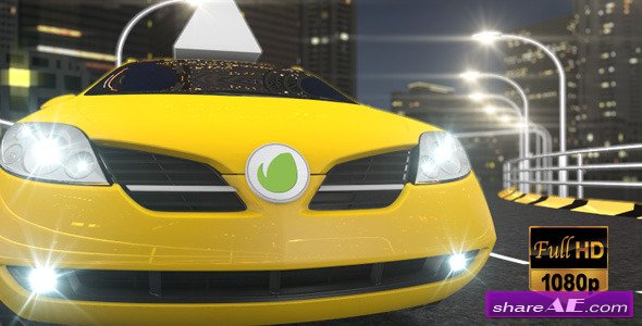 Videohive Taxi Cab Ident