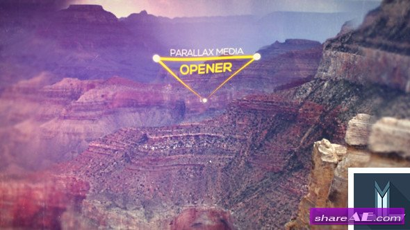 Videohive Parallax Media Opener