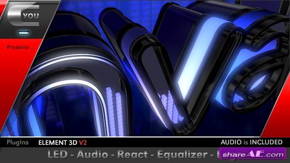 Videohive LED Audio React Equalizer Logo