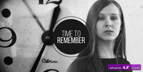 Videohive Time to Remember