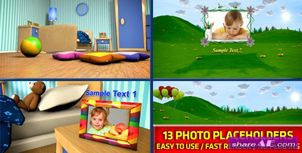 Videohive Baby Photo Album