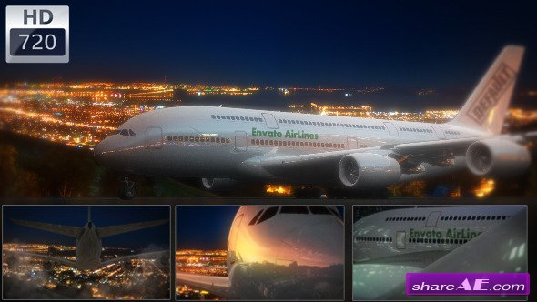 Videohive Airplane Logo - Take Your Brand Higher