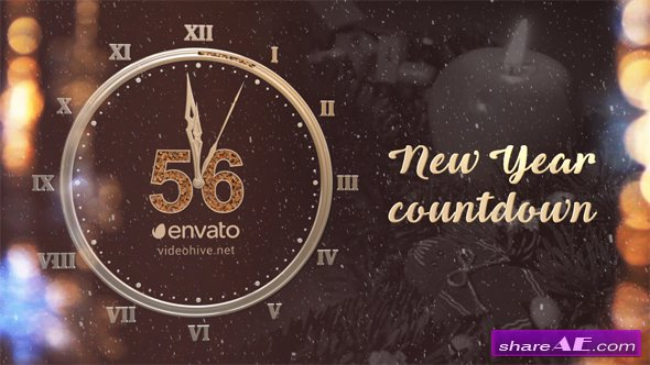 Videohive New Year Countdown 2017