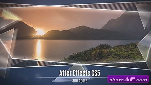 Glass and Frame Slideshow  - After Effects Template (Motion Array)