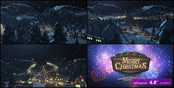 Videohive Merry Christmas