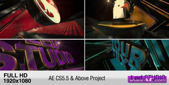 led studio » free after effects templates | after effects intro