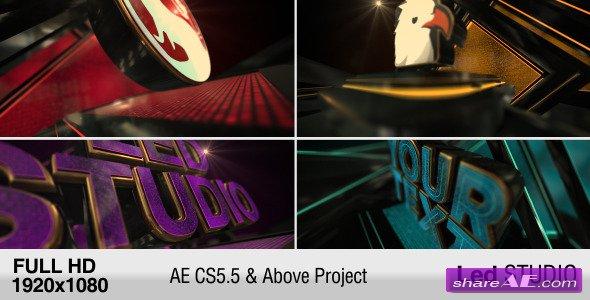 Videohive LED Studio Logo