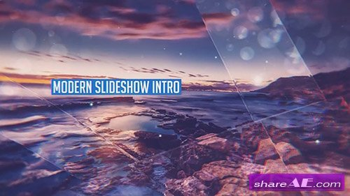 Modern Slideshow Intro - After Effects Template (Motion Array)