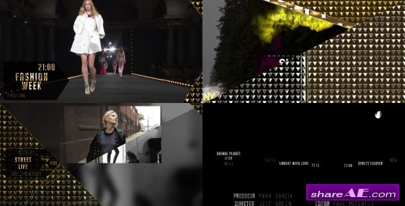 Videohive Gold Broadcast Package