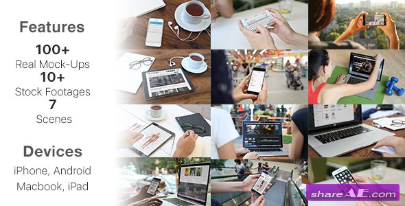 Videohive Biggest MockUp Kit // Digital Device Mockups