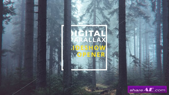 Videohive Digital Parallax Slideshow I Opener