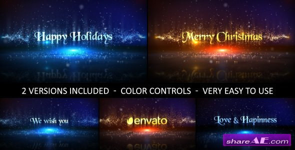 Videohive Christmas 18730813