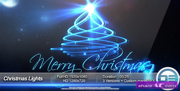 Videohive Christmas Lights
