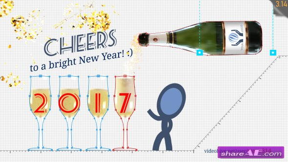 Videohive New Year Greetings