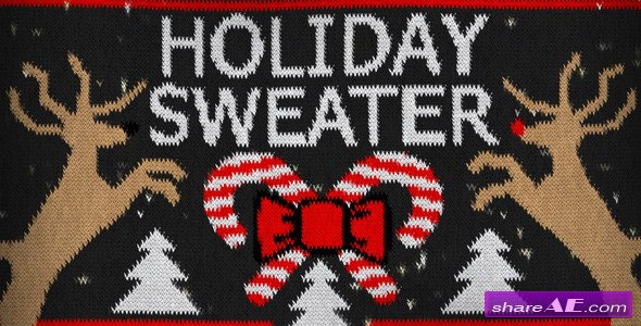 Videohive Holiday Sweater