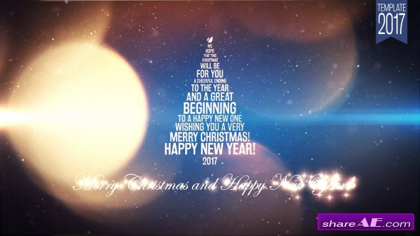 Videohive Light New Year Greetings