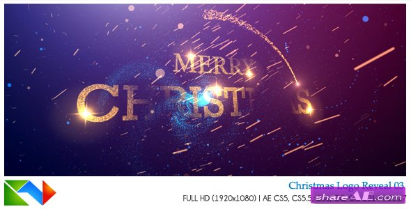 Videohive Christmas Logo Reveal 03