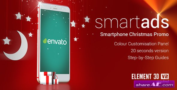 Videohive smartAds - Smartphone Christmas Commercial