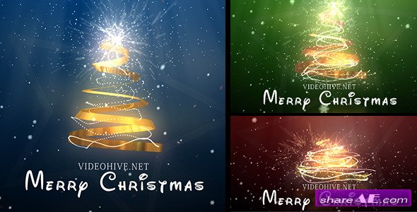 Videohive Christmas Tree