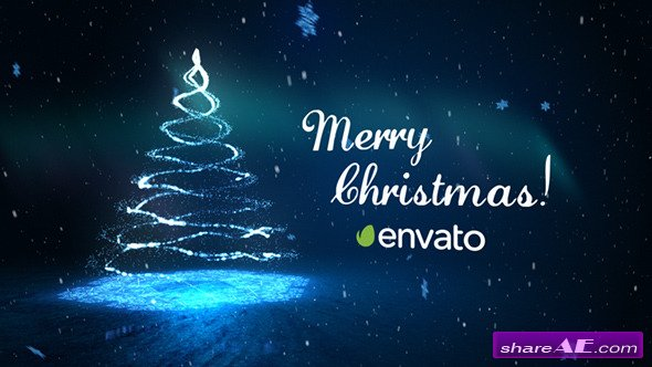 Videohive Christmas Greetings Card