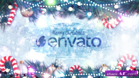 Videohive Winter Holidays Logo Reveal