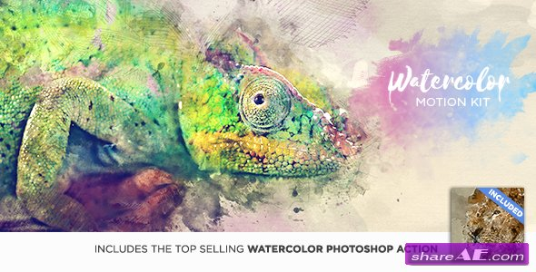 Videohive Watercolor Motion Kit V1.4