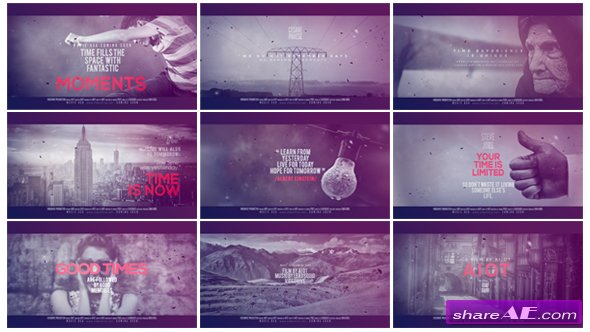 Videohive Time Dimension