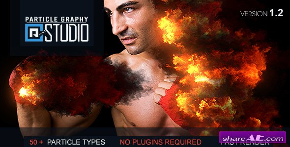 Videohive Particle Graphy Studio