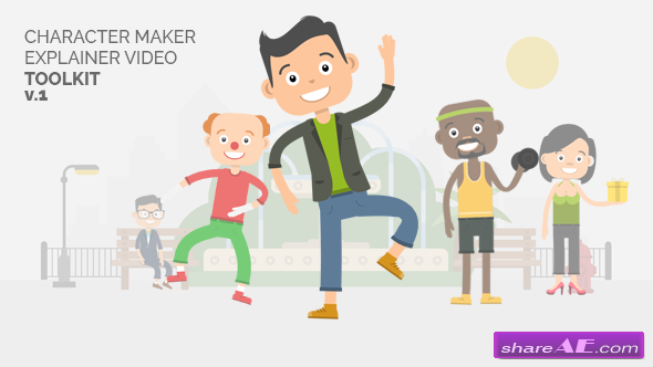 Videohive Character Maker - Explainer Video Toolkit