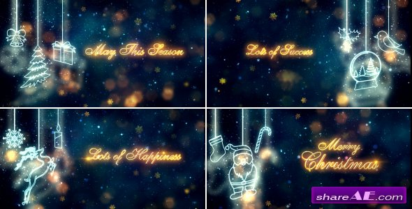 Videohive Christmas Titles