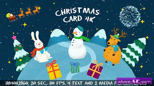 Videohive Christmas Card