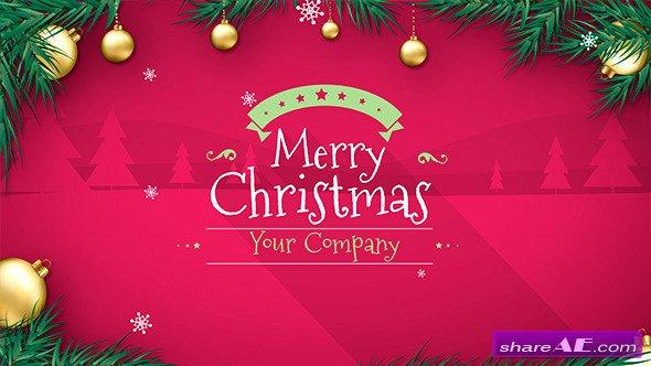 Videohive Christmas 13936737