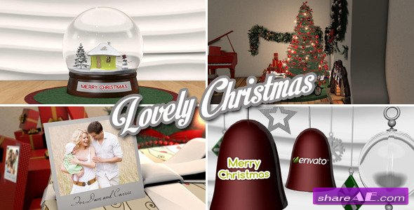 Videohive Lovely Christmas