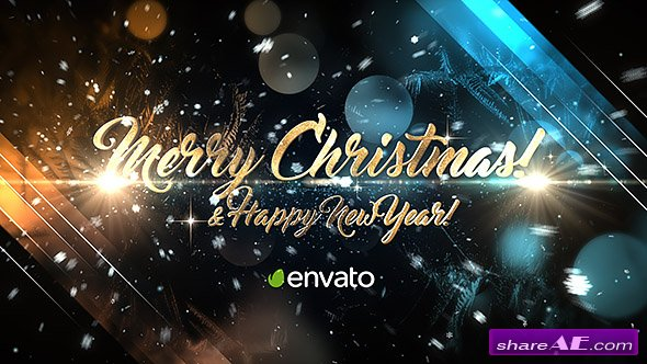 Videohive Christmas Greetings
