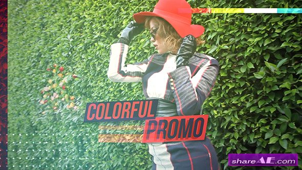 Videohive Colorful Promo Video