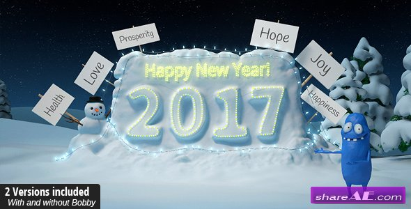 New Year with Bobby - Videohive