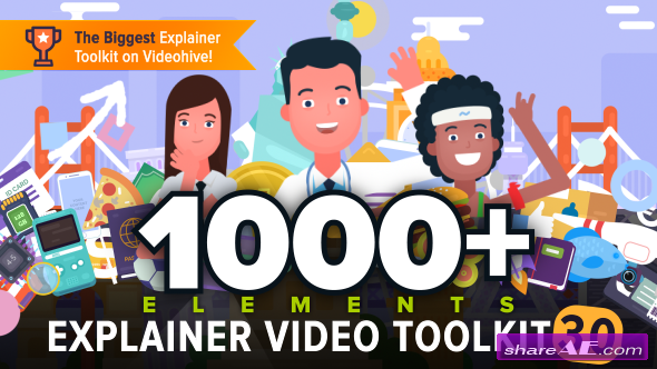 Videohive Explainer Video Toolkit 3