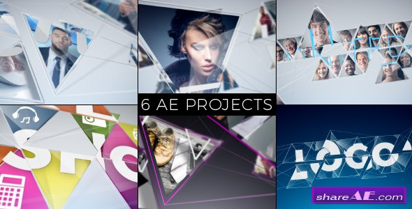 Videohive Connected Mosaic Pack