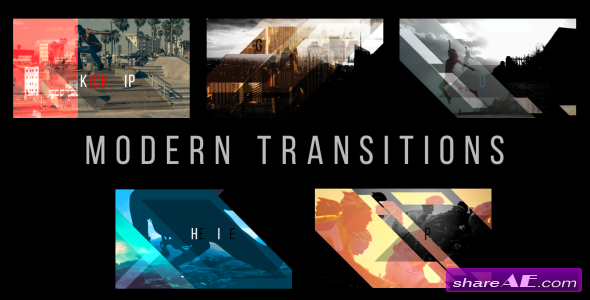 Videohive Modern Transitions 5 Pack Volume 3