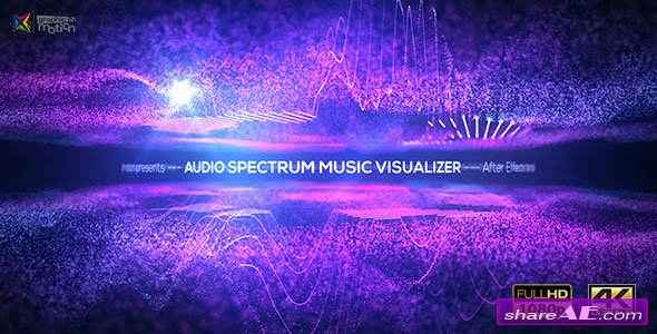Videohive Audio Spectrum Music Visualizer 18738902