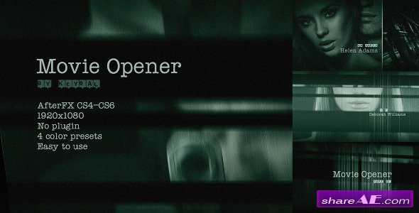 Videohive Movie Opener