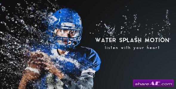 Videohive Water Splash Motion