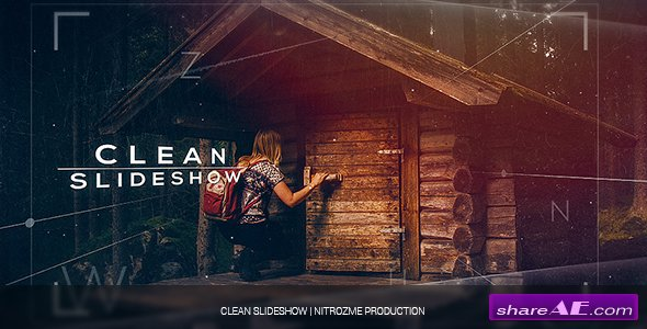 Videohive Clean Slideshow