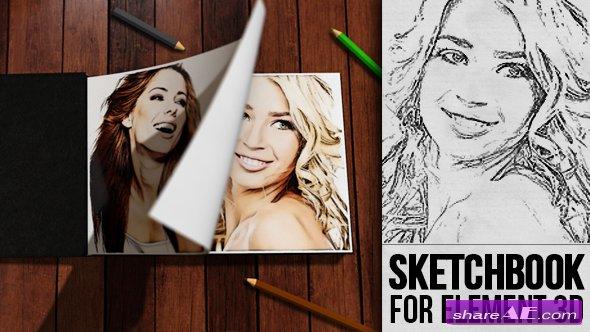 Videohive Sketchbook